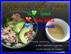Spinach Tuna Salad